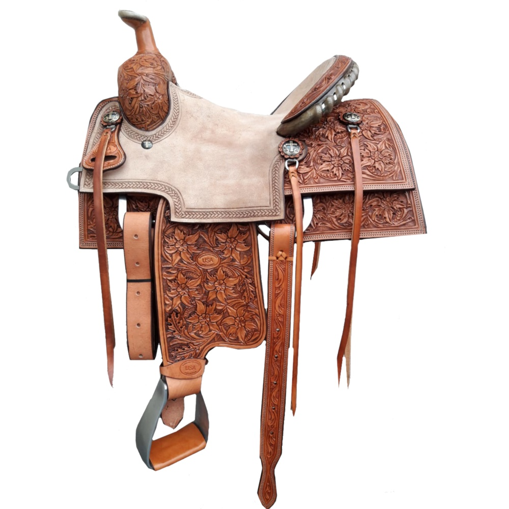 Sela Artesanal para Team Roping - Pro Horse PH1007