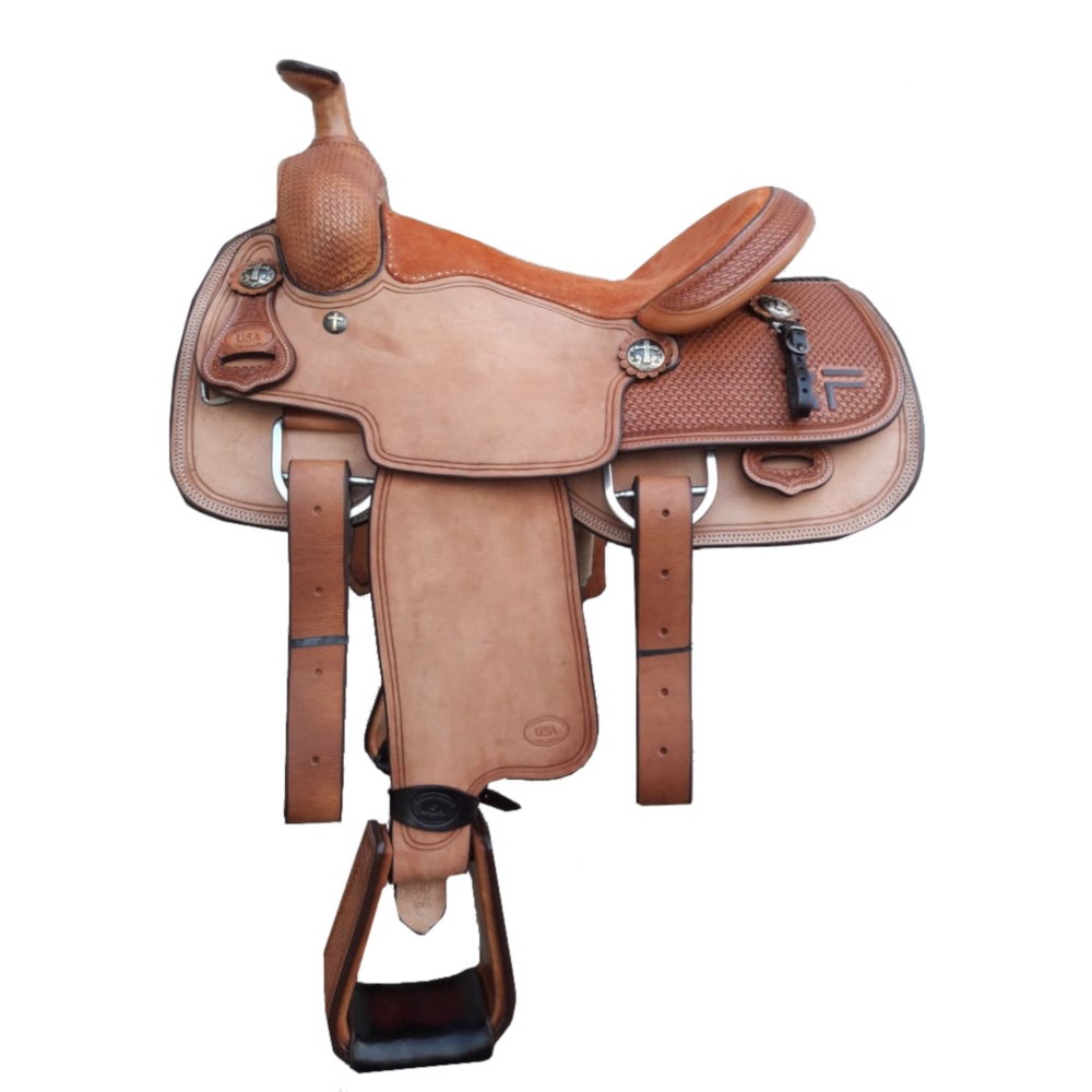 Sela Artesanal para Team Roping - Pro Horse PH1008