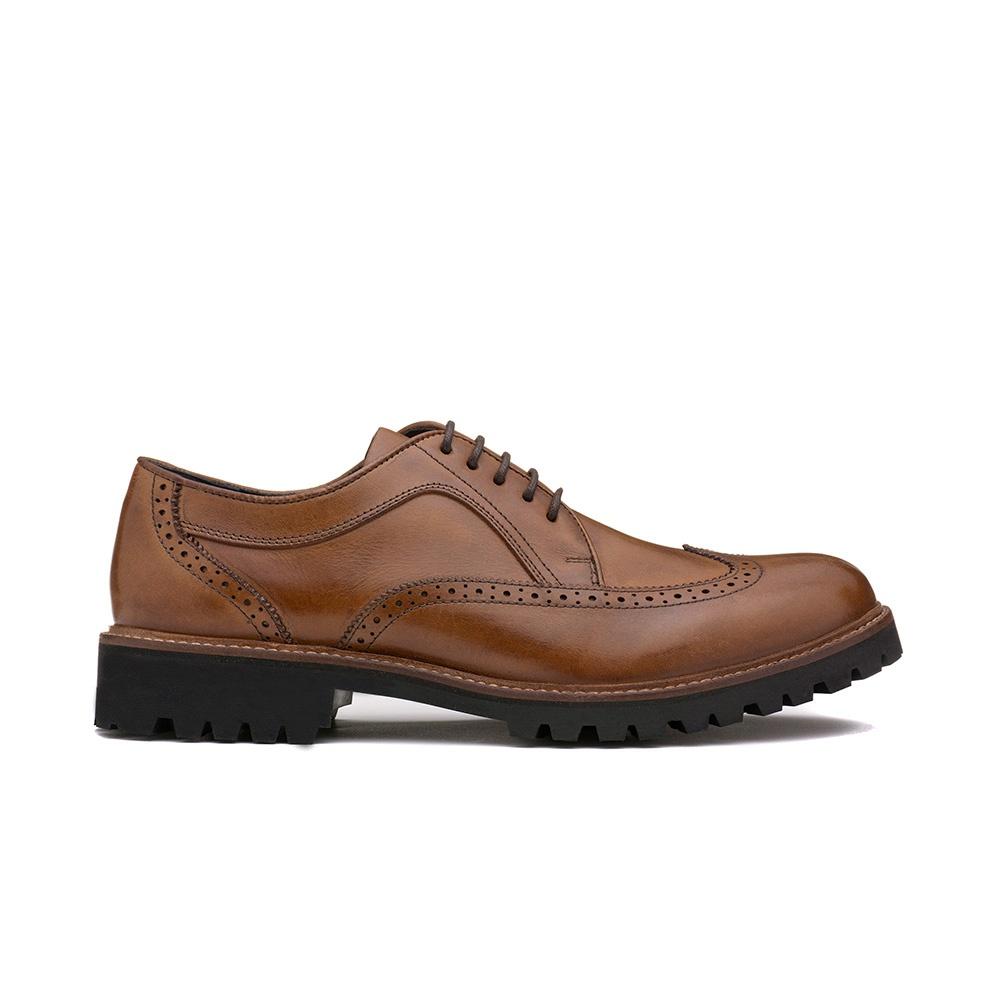 Sapato Casual Masculino JACOB Whisky