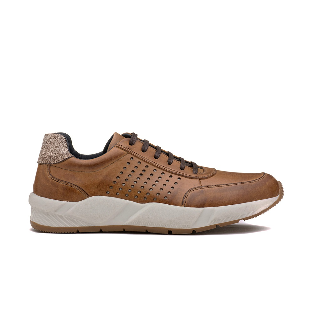Sneakers Masculino ELÍSIO Whisky/Gelo