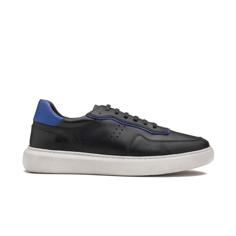 Sneakers Masculino MIGUEL Preto/Soft Royal
