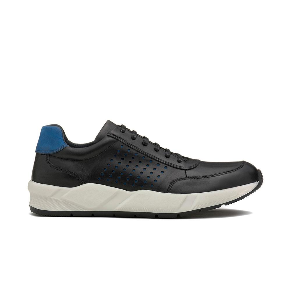 Sneakers Masculino ELÍSIO Preto/Royal