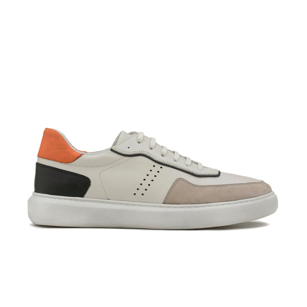 Sneakers Masculino MIGUEL Off White/Cinza