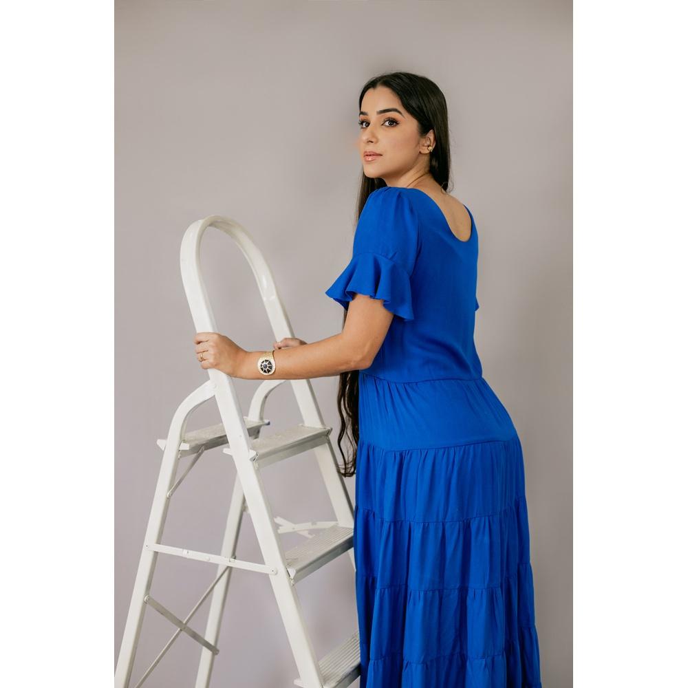 Vestido Celia azul