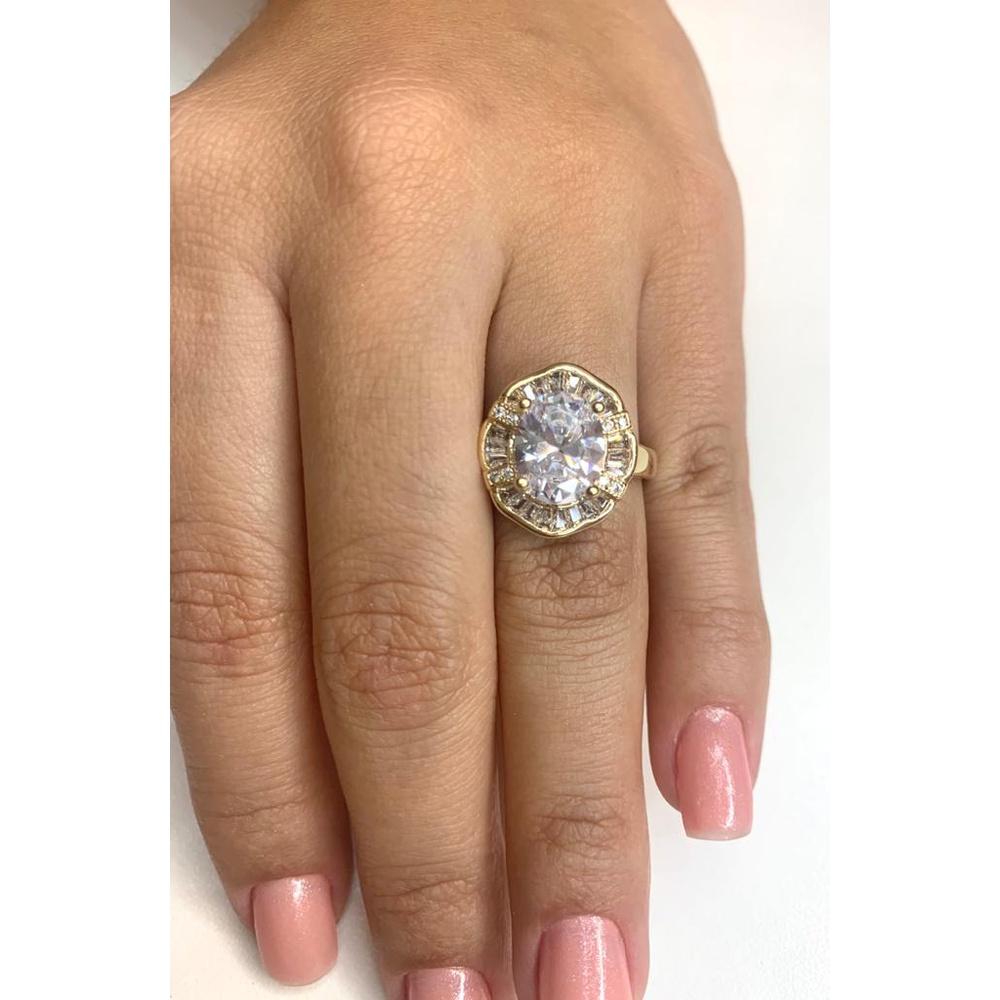 Anel Pedra Diamante