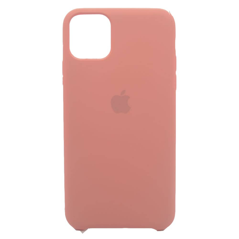 CAPINHA ROSA CHICLETE IPHONE 11 PRO MAX - SILICONE