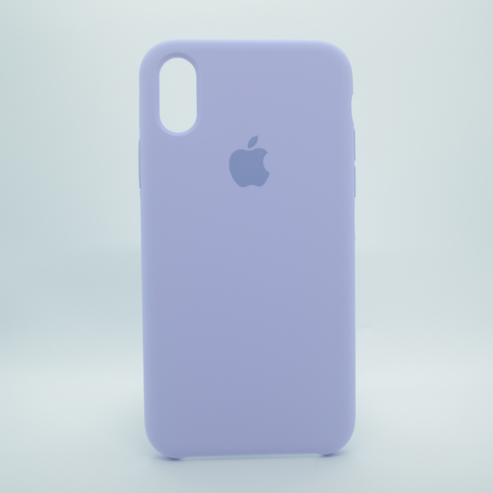 CAPINHA LILÁS IPHONE X / XS - SILICONE