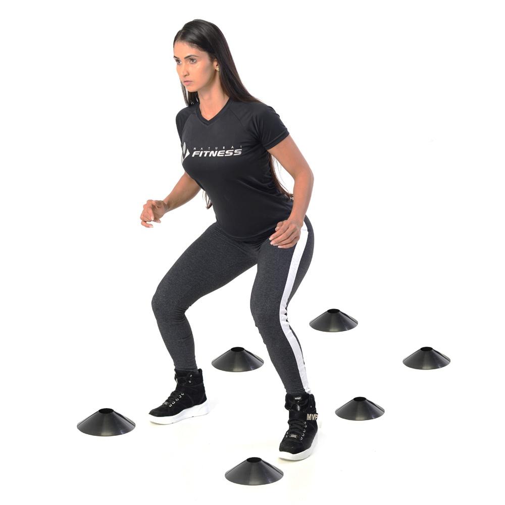 Chapeu Chines Preto - Mini Cone para Treino Funcional