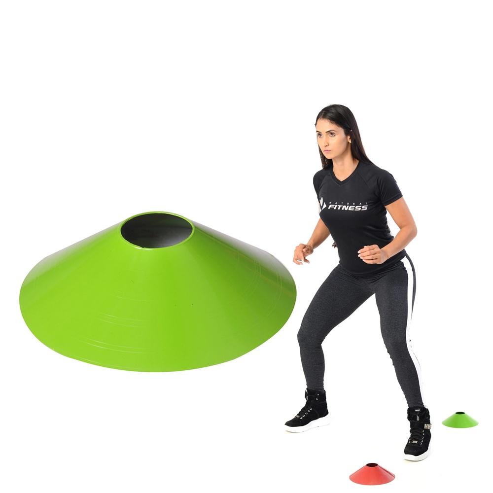 Chapéu Chines Coloridos - Mini Cone para Treino Funcional