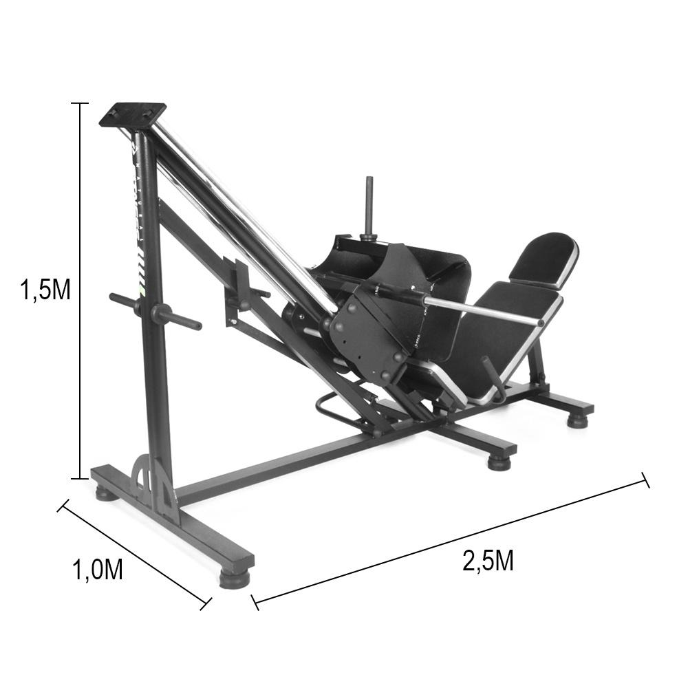 Aparelho Leg Press 45 para Musculação - Natrus