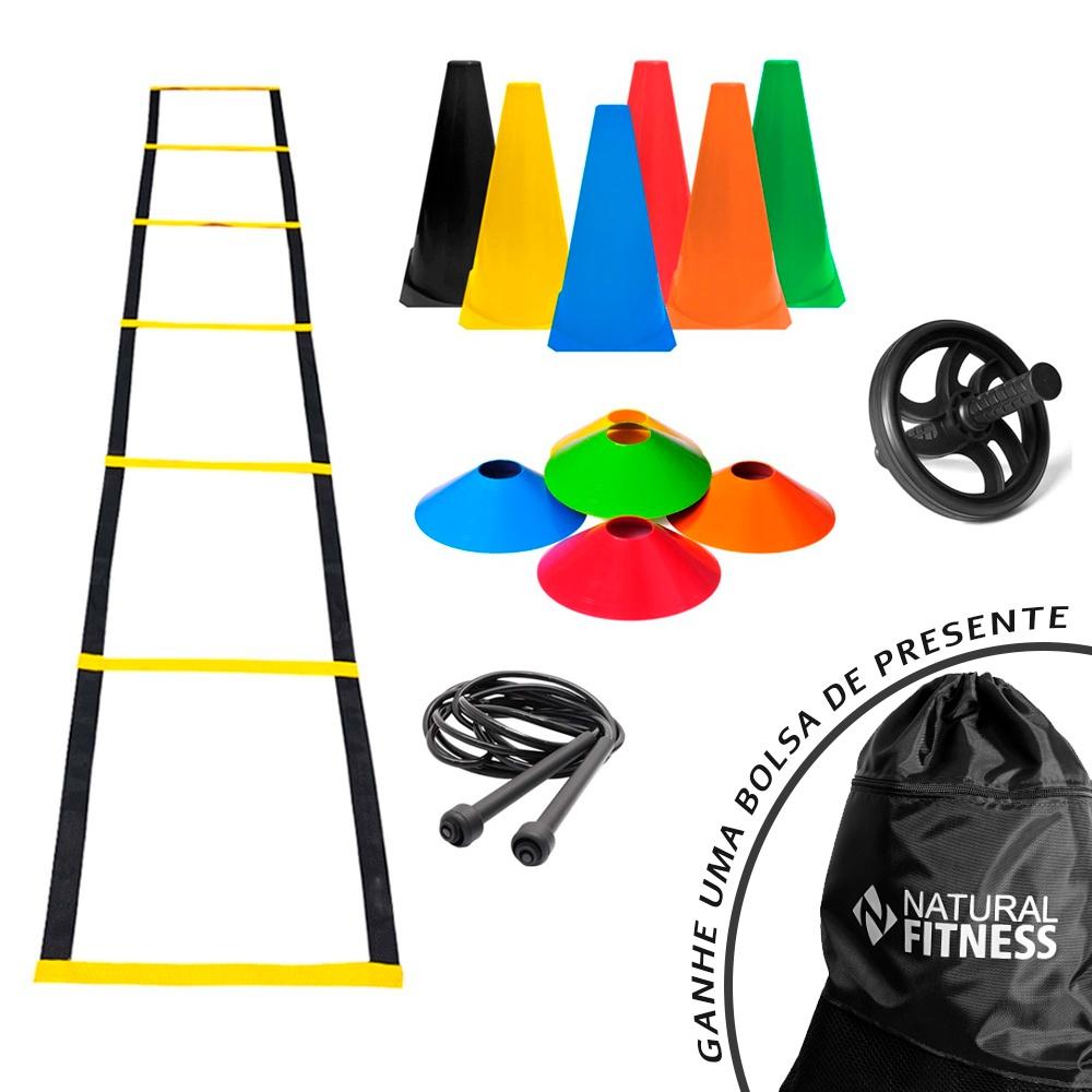 Kit Funcional Agilidade 4 - 23 Itens