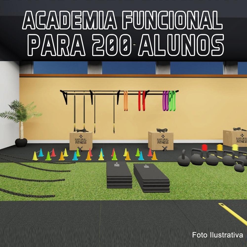 Academia de Treino Funcional Para 200 Alunos/Mês