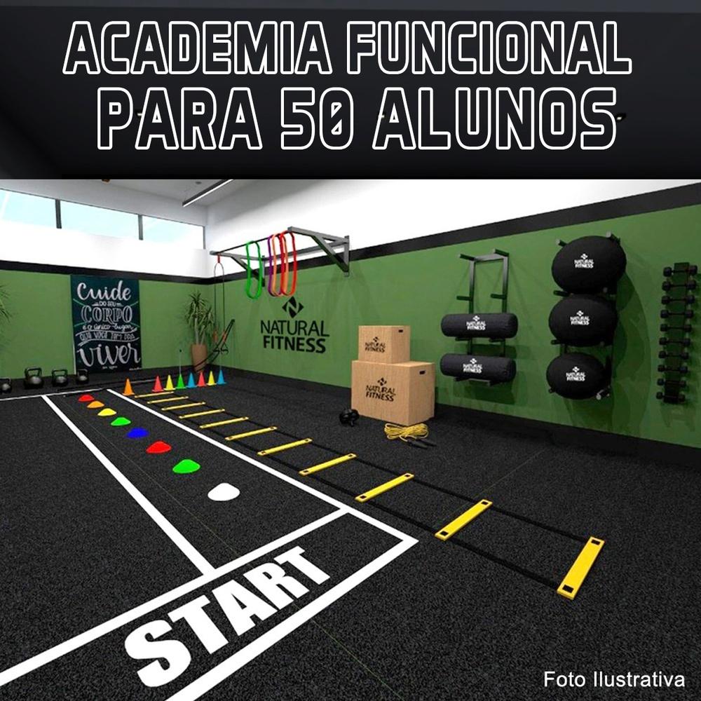 Academia de Treino Funcional sem Gaiola Para 50 Alunos