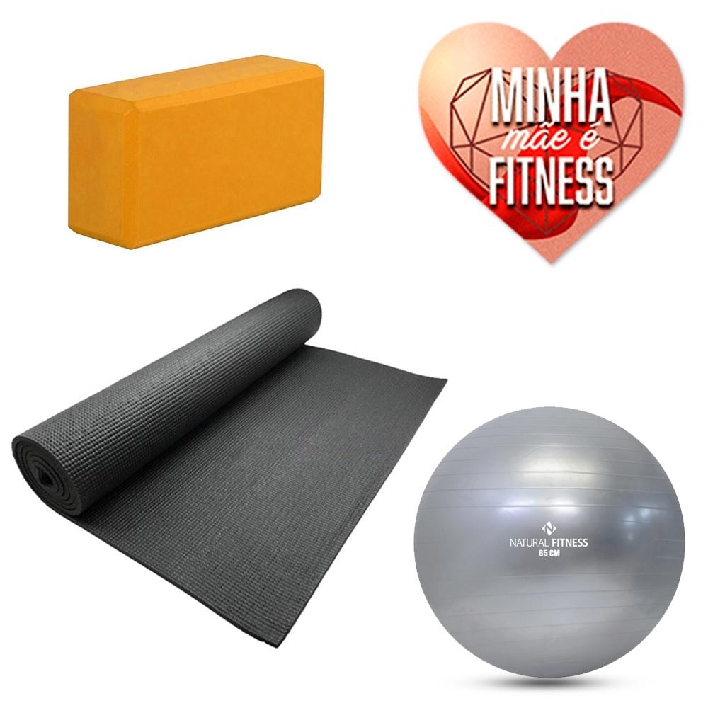 Kit Treino em Casa Pilates e Yoga