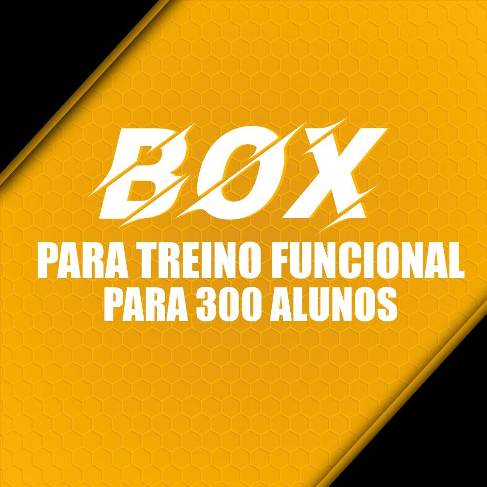 Box para Treino Funcional Para 300 Alunos/Mês