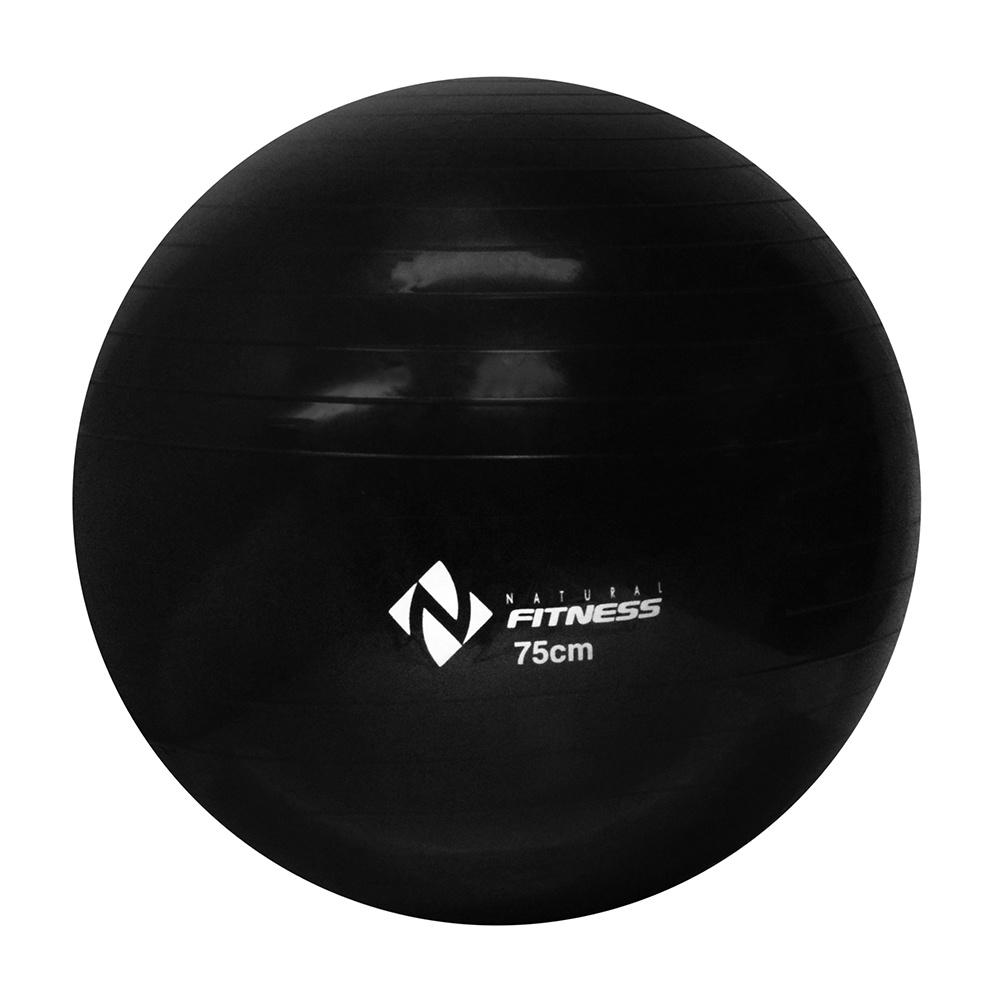 Bola Suiça para Pilates 75cm + Bomba de Ar