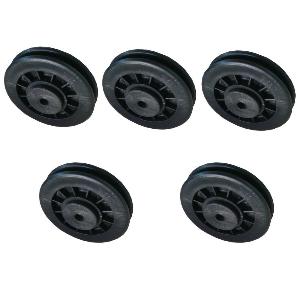 Kit 5 Roldanas com Rolamento Musculação Premium