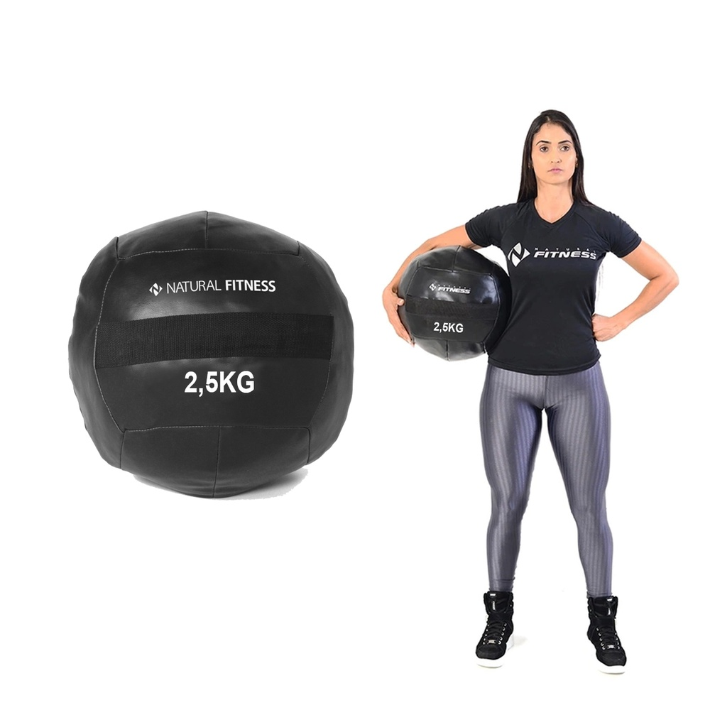 Wall Ball 2,5 kg Natural Fitness