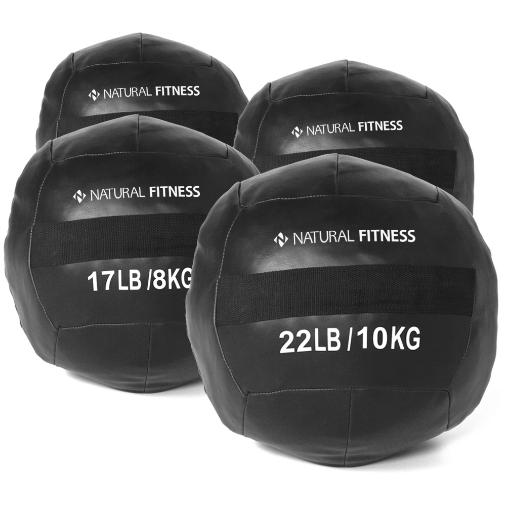 Kit Wall Ball 4kg - 6kg - 8kg - 10kg Natural Fitness