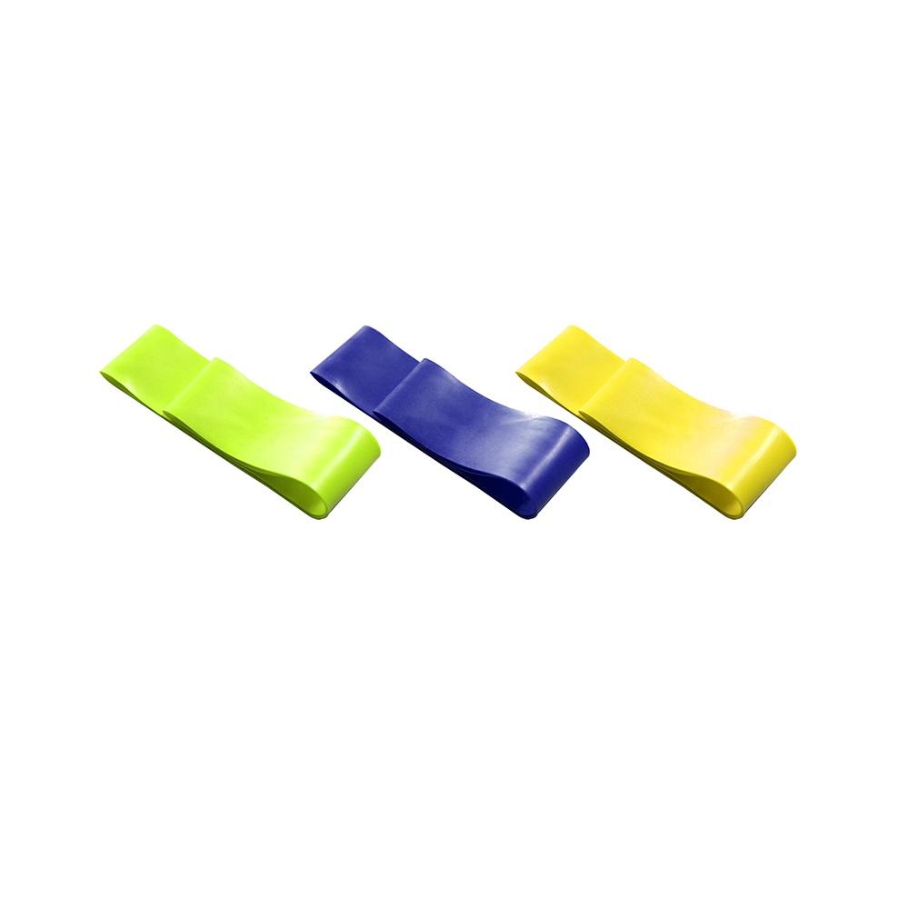 Kit 3 Elásticos Mini Band Faixa de Exercícios