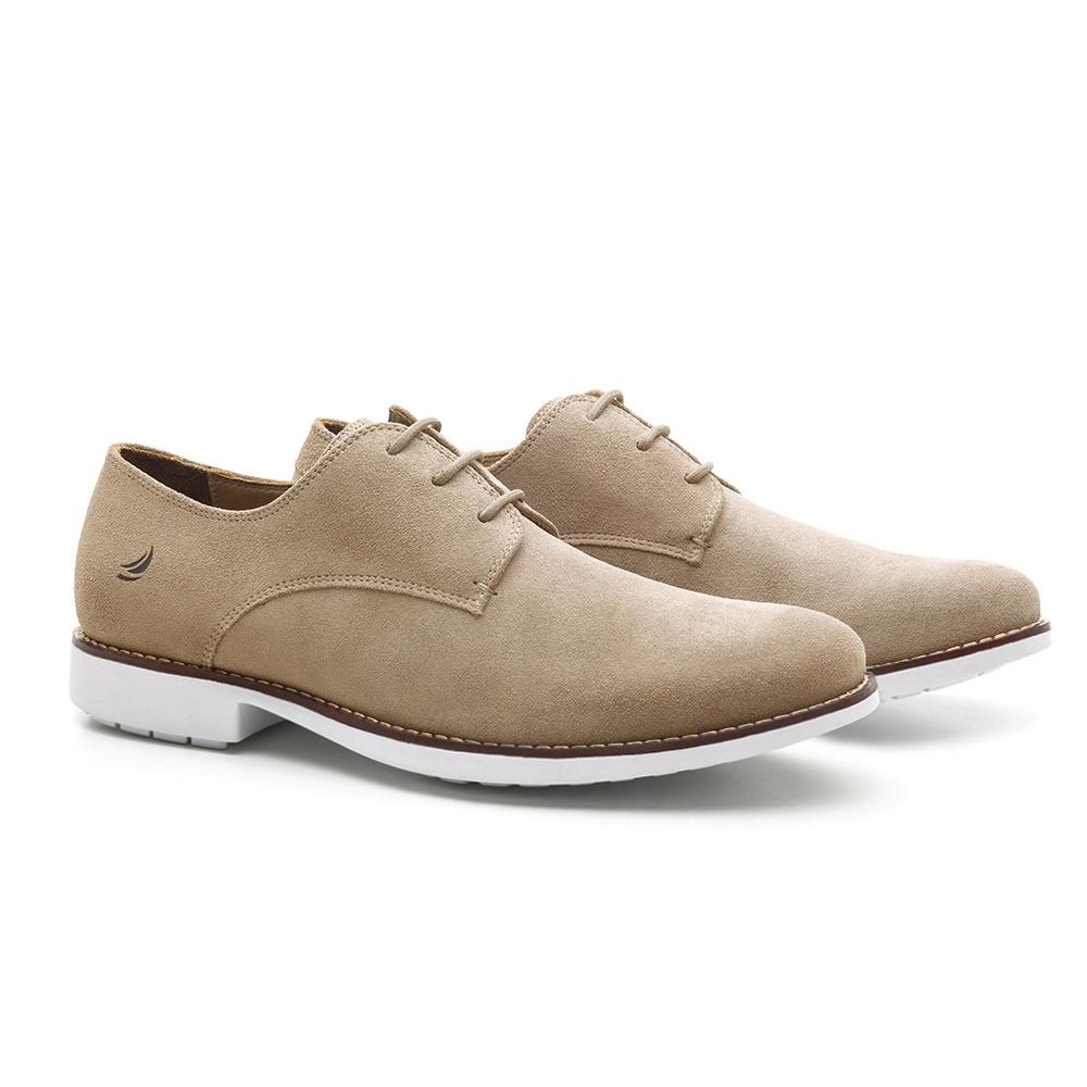 Sapato Masculino Derby Marfim Saliara