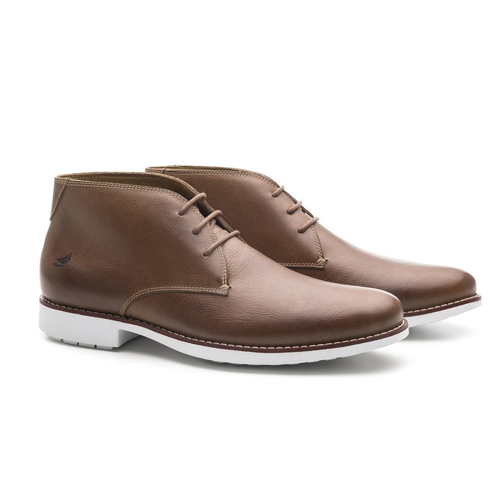 Chukka Boot Masculina Brown Liku