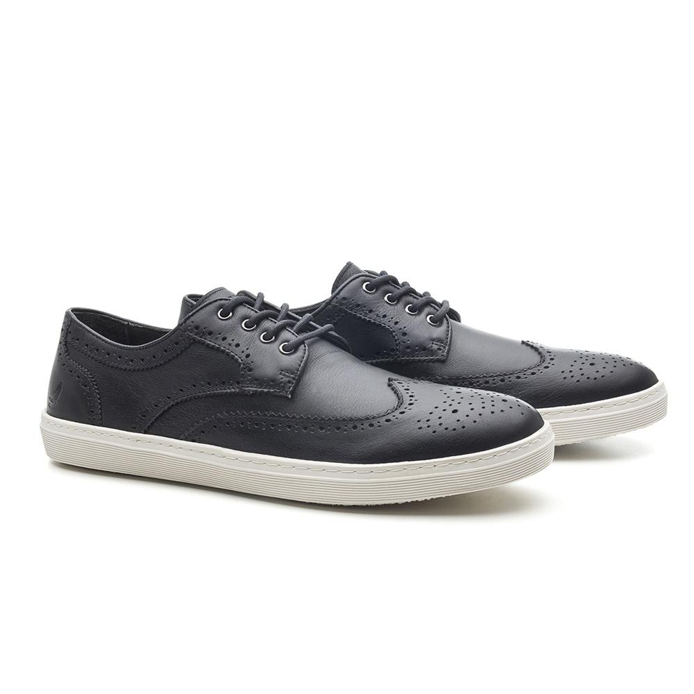 Sapato Masculino Brogue Preto Bodrun