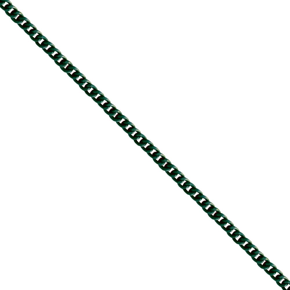 Corrente De Elo 7mm Alumínio - Banho Verde Oliva -... - BMSTRASS