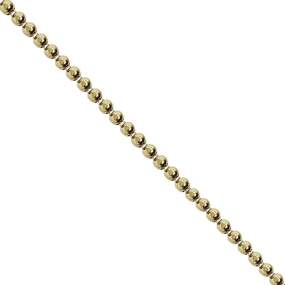 Corrente Royal Metal 5x5mm - Banho Ouro - 16984 - BMSTRASS