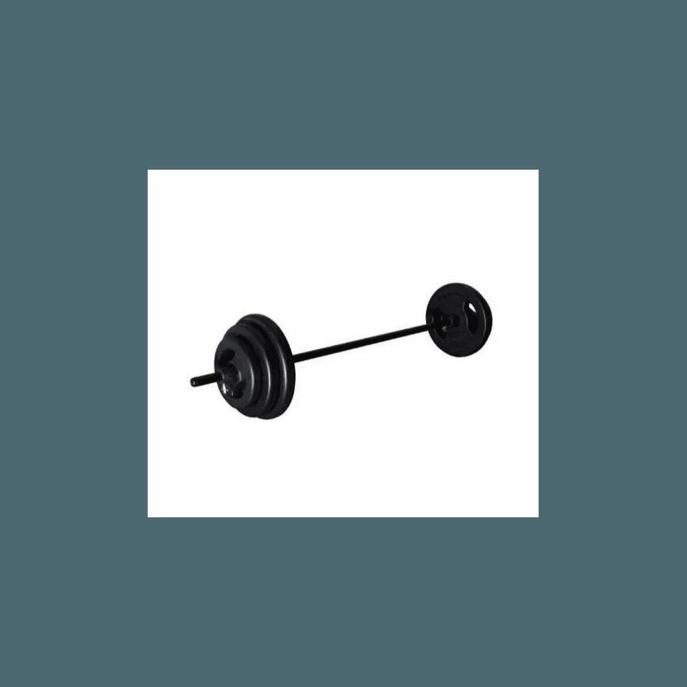 Kit Body Pump - Barra 120cm + 4 anilhas pintadas de 3, 4, 5kg