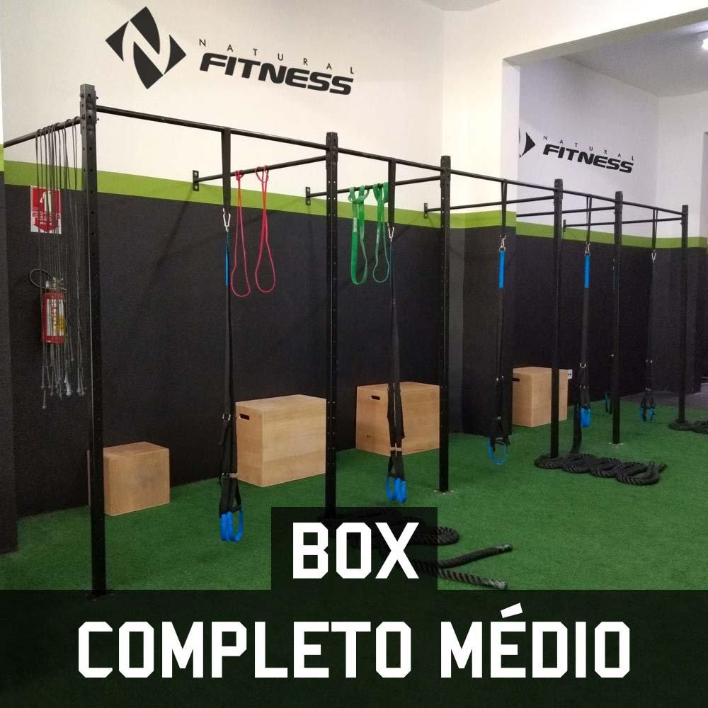Box para Treino Funcional Para 300 Alunos/Mês - Médio