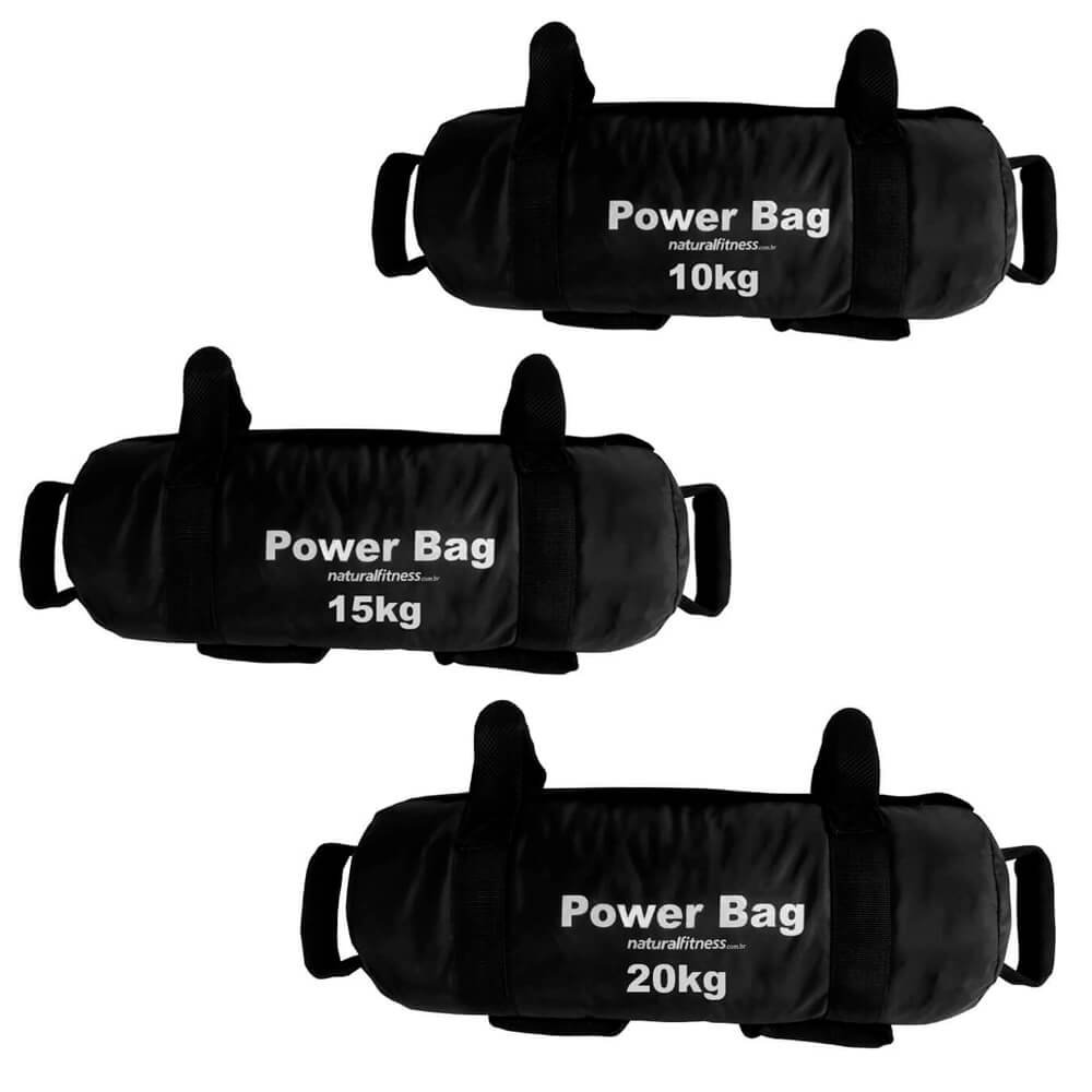 Kit Power Bag Natural Fitness 10kg - 15kg - 20kg