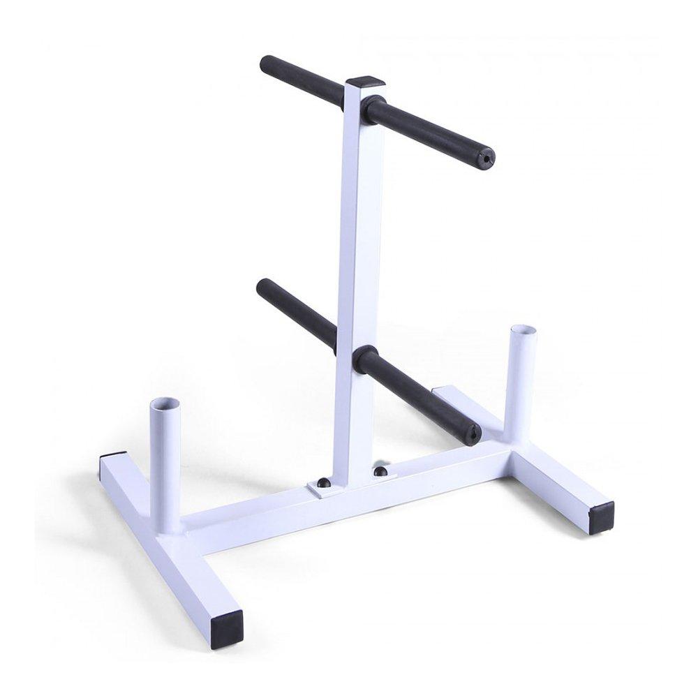 Suporte para Anilhas e Barra de Musculação