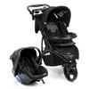 Carrinho de Bebê Infanti com Bebe Conforto Off Road Onyx