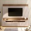 Painel Casa D Expand 2.2 Off White/Noce para TVs de até 60 polegadas