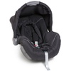 Bebê Conforto Galzerano Piccolina Preto/Cinza - Dispositivo de Retenção Até 13kg