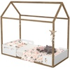 Mini Cama Matic Montessoriana Liv Branco Soft/Teka