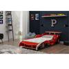 Cama Solteiro Infantil Gelius Carro Fórmula 1 Vermelho
