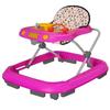 Andador Infantil Safari Interativo Tutti Baby Rosa