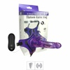 Cinta Com Vibrador Harness Rabbit VP (CT013-ST445) - Roxo