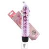 Vibrador Com Capa e Nodulos Massageadores 14x13cm VP (PE011E-ST337) - Rosa