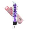 Vibrador Com Capa e Nodulos Massageadores 14x13cm VP (PE011E-ST337) - Roxo