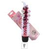 Vibrador Com Capa e Nodulos Massageadores 14x13cm VP (PE011E-ST337) - Vermelho