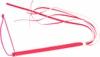 Chicote Fino Com Franja Brasil Fetiche 35cm (CFR30-ST567) - Rosa