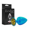 Plug Metálico Com Pedra Variadas Médio Hard (ST611- HA114) - Azul