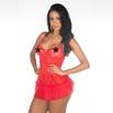 *Camisola Drapy (PS8112) - Vermelho