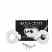 Algema Com Pelucia Hand Cuffs (AL001-ST192) - Branco