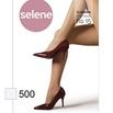 Meia Calça Clássica Selene Fio 15 (ST371) - Branco