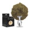 Plug Anal PomPom Cor Médio Hard ( ST606-HA115 ) - Cromado