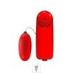 Ovo Vibratório Bullet Importado VP (OV001-ST243) - Vermelho